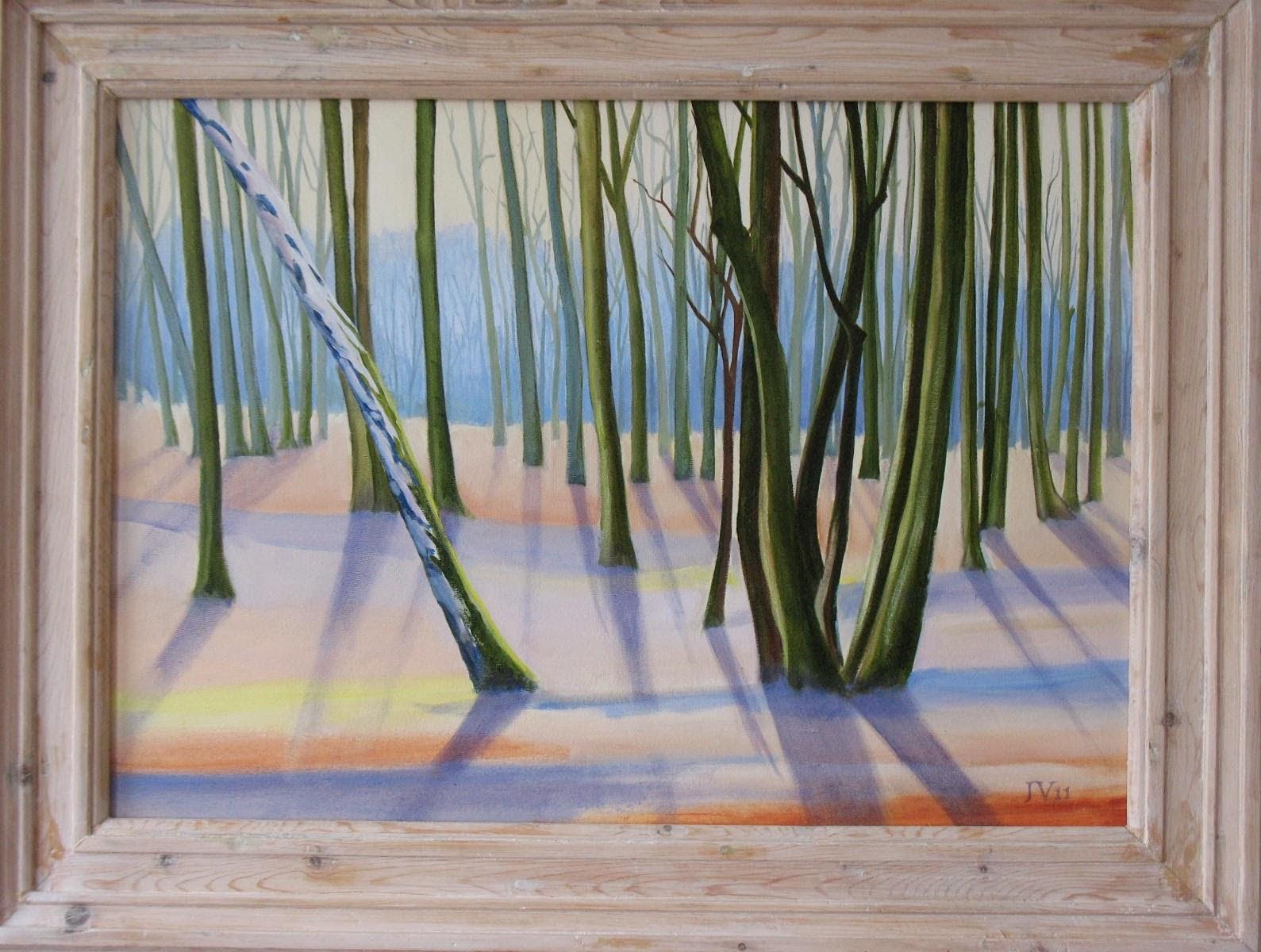 Schilderij (olieverf), blik op Duin en kruidberg