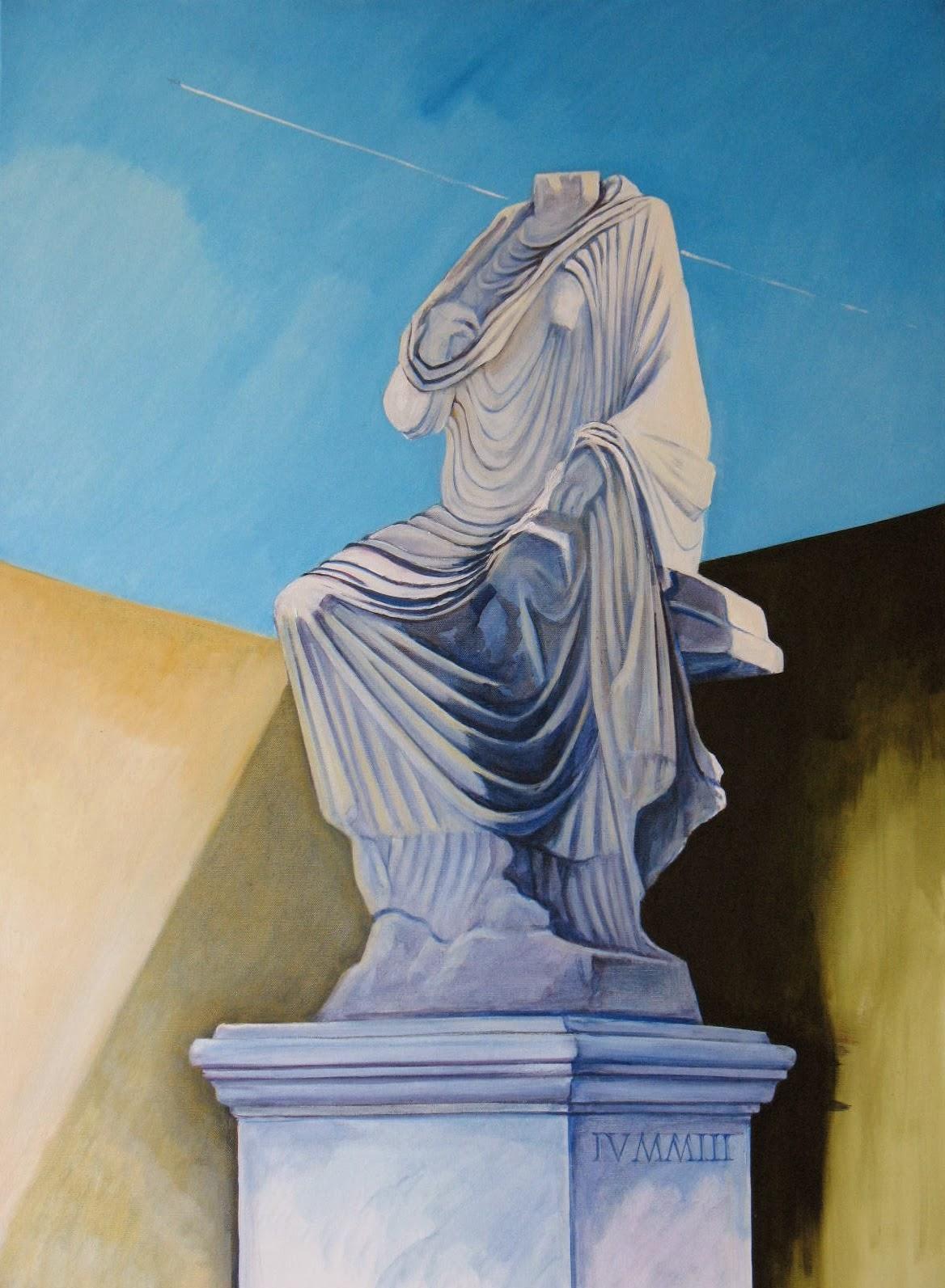 Schilderij van Efese, de scholastikia uit 2013