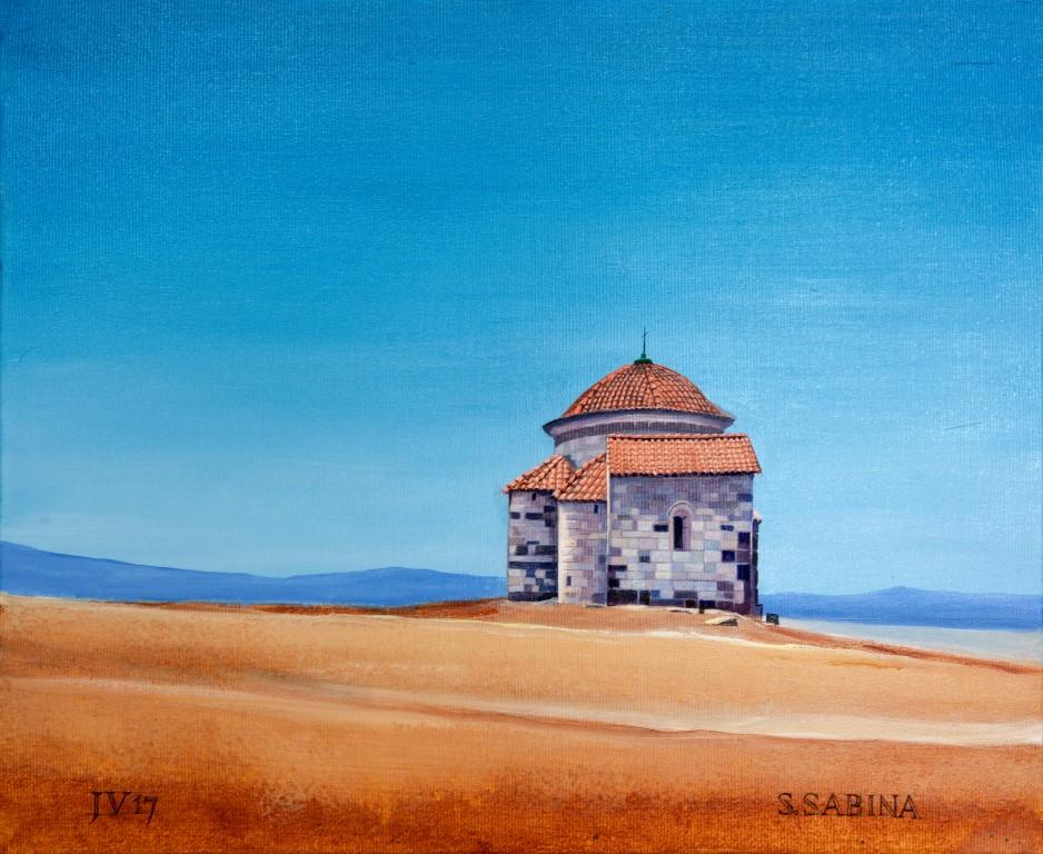 Santa Sabina (Sardinië) - 50x60cm