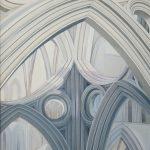 Schilderij van de kathedraal van Welsh uit 2009