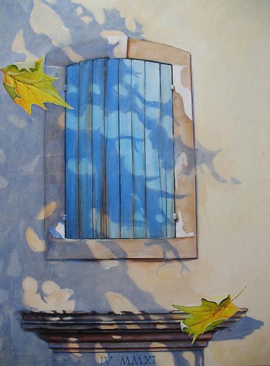 Schilderij gemaakt in de herfst 2011