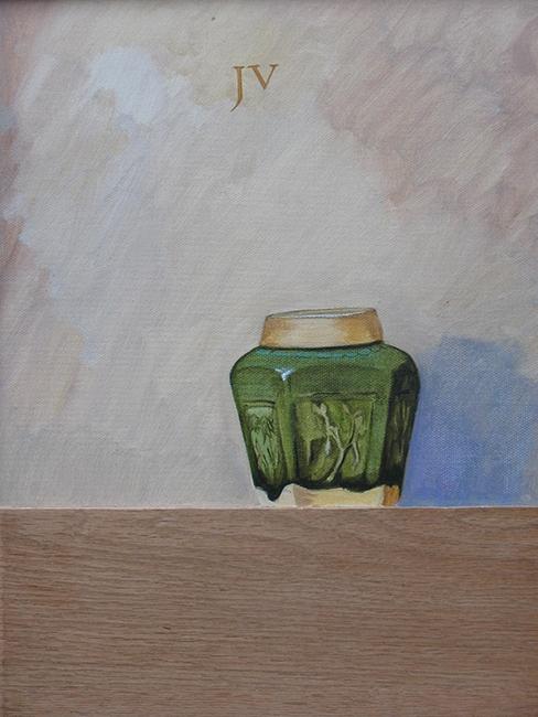 Schilderij van een gemberpotje uit 2012