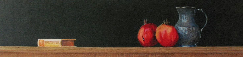 Schilderij van een Turks stilleven uit 2013
